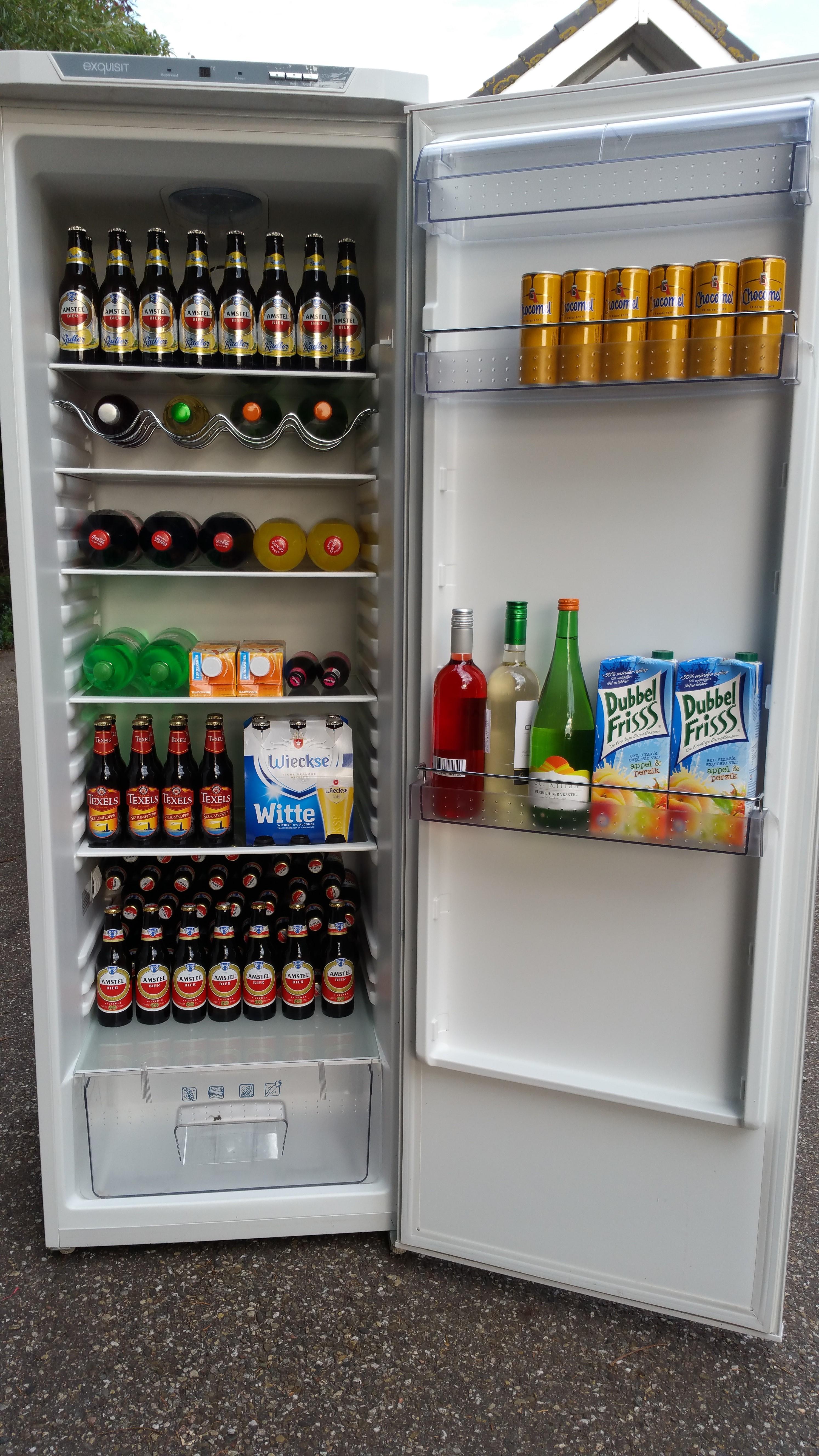 gevulde koelkast